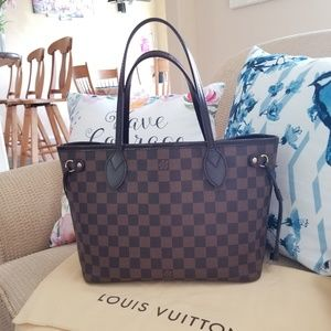 Louis Vuitton Neverfull PM damier ebene...